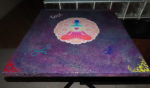 Faux Granite Chakra Table